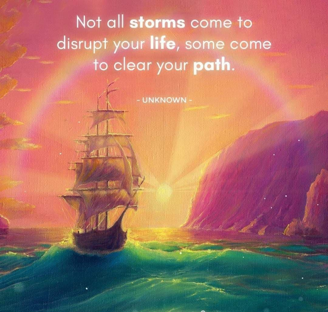 Be Calm In The Storm