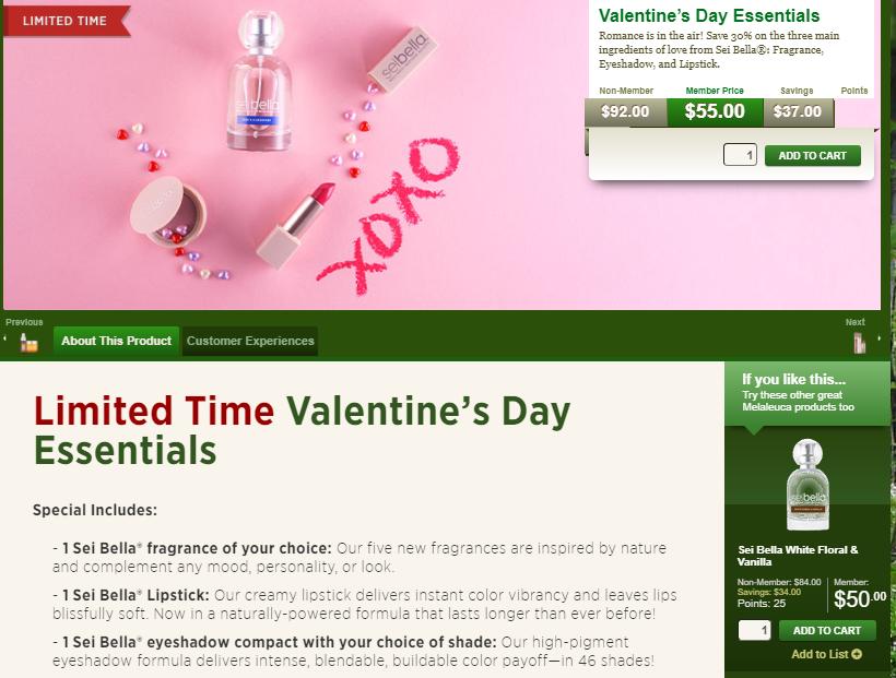 Sei Bella Valentine's Day Special