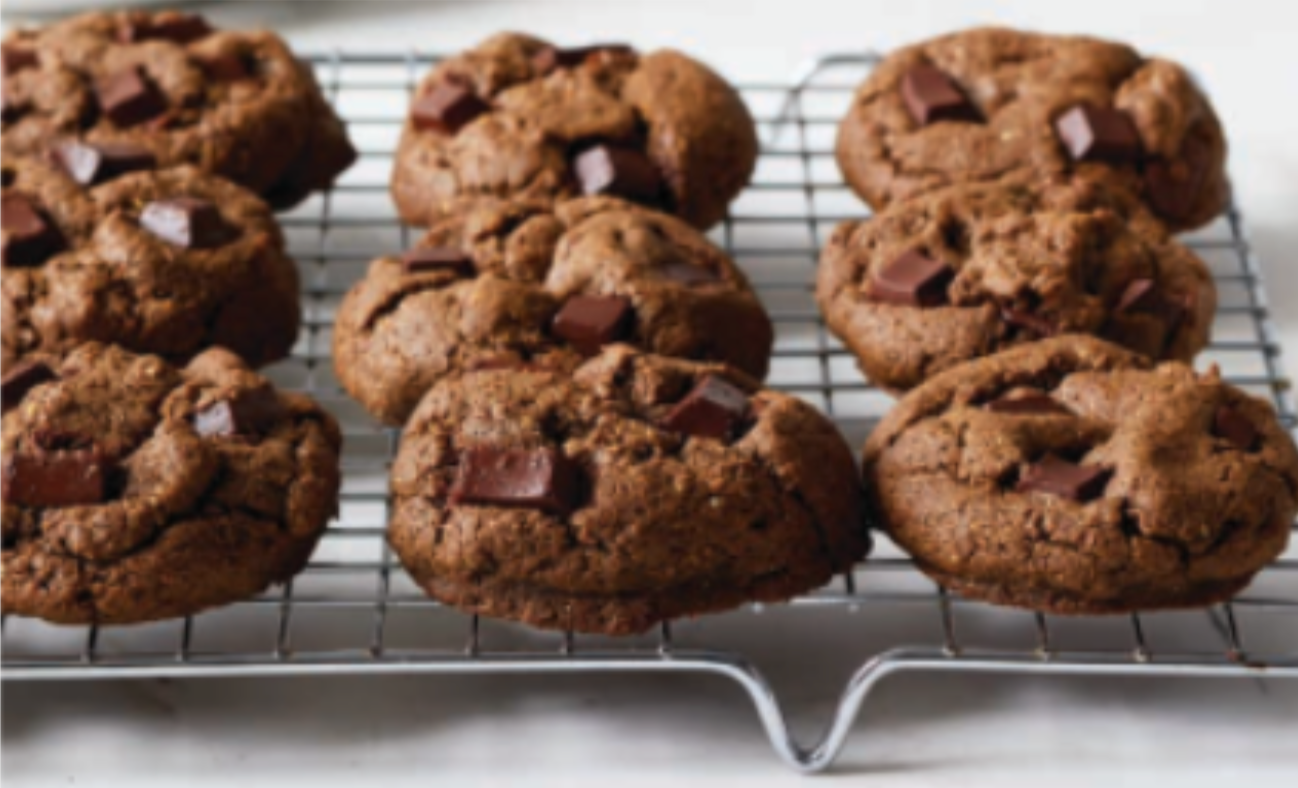 Dr G's Chocolate Chip Mint Cookies